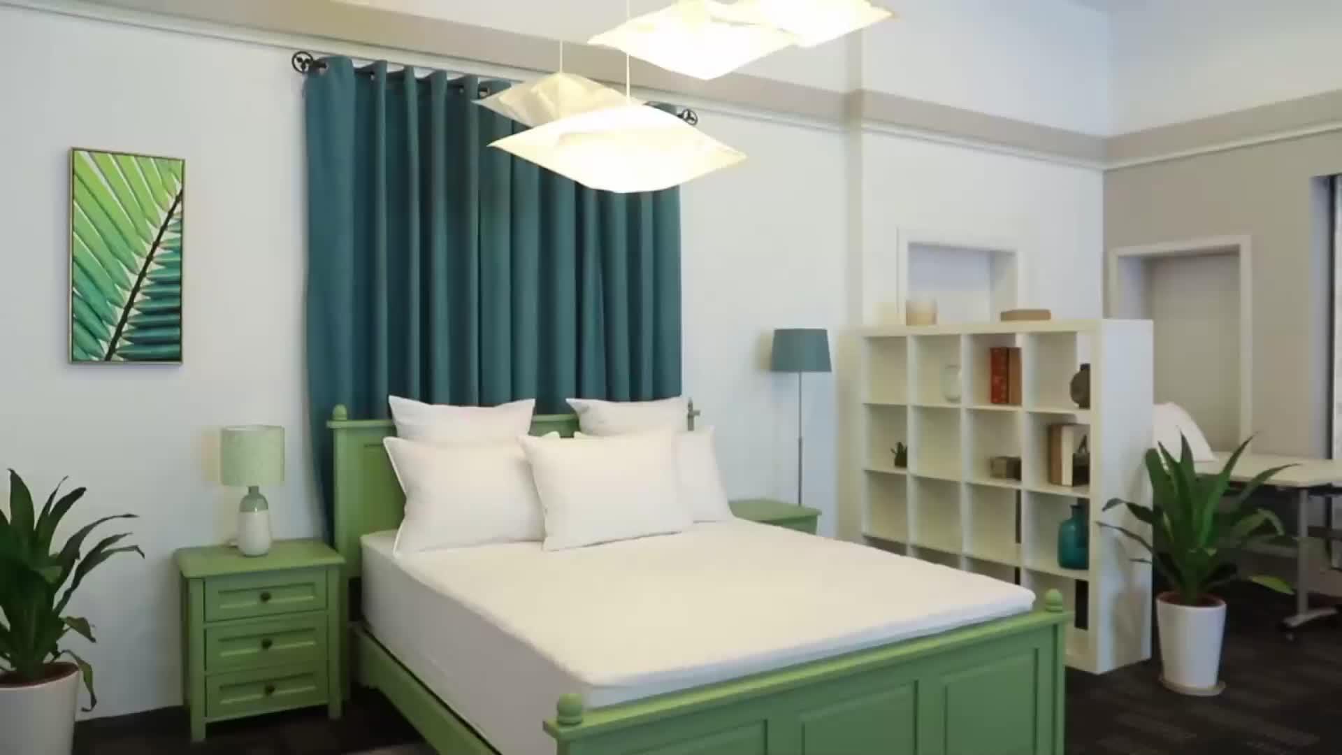 Luxus 100% Baumwolle individuell bedruckte Doppelbett Bettbezug mit Kissenbezug Bettbezug Bettwäsche Set alle Größe