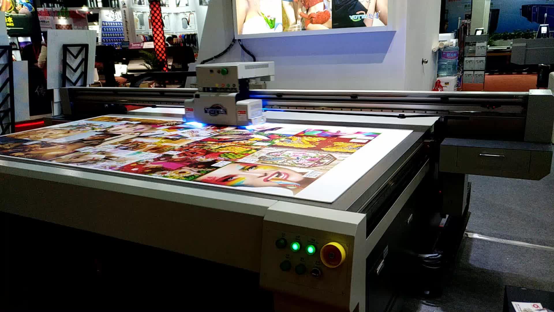 Direkt jet uv-flachbettdrucker/digitale teppich druck maschine
