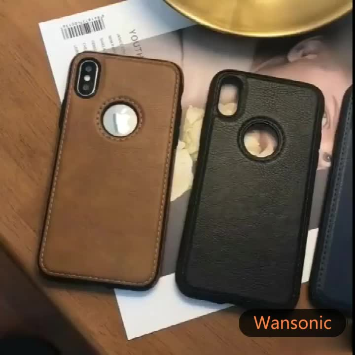 Slim Luxury Leather Cover Flexible Non-Slip Bumper Shockproof Scratch Resistant Protective Phone Cases for Samsung Galaxy S9