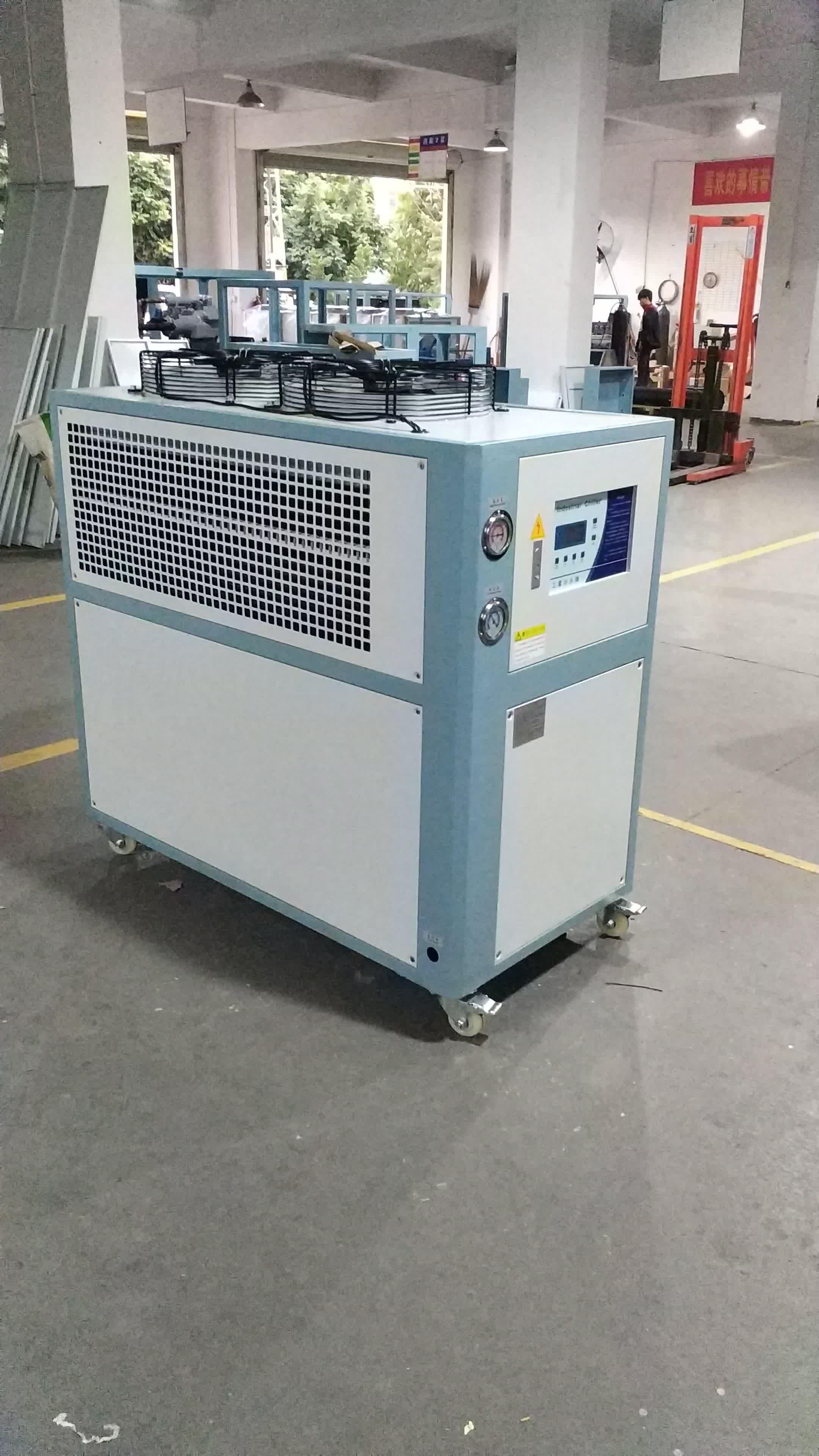 5 ton raffreddato ad aria refrigeratore d'acqua 380 V 60 HZ a bassa temperatura glicole chiller