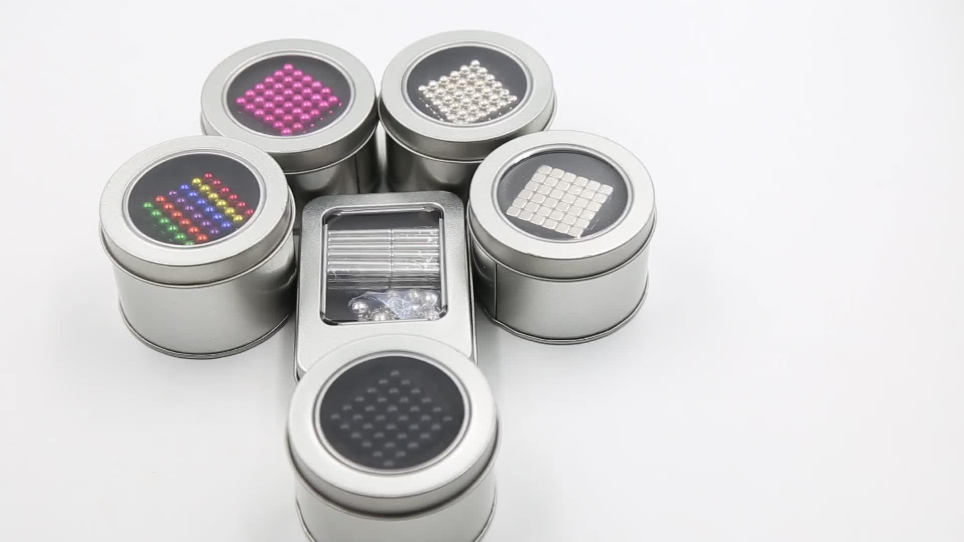 Hoge precisie 216 stks 5mm 3mm 6mm neodymium magnetische magneet ballen 5mm
