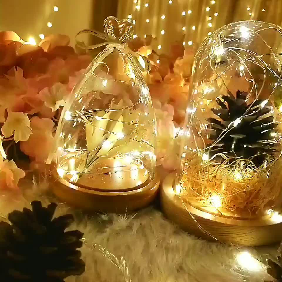 Battery operated waterproof starry curtain copper wire fairy christmas outdoor led string lights with remote control