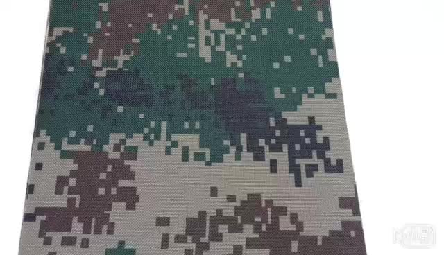 Modern Design Pu Pvc Coating Waterproof Army Military 600D Polyester Camouflage Print Fabric Bag Material