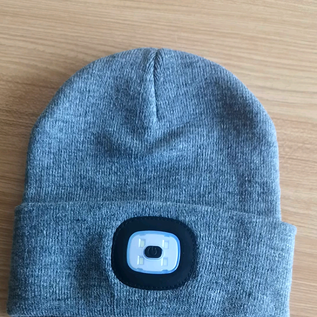 Fabriek groothandel aangepaste Premium Kwaliteit LED winter warm Beanie Hat-Langdurige Batterij-warm Beanie Hoed Met LED licht