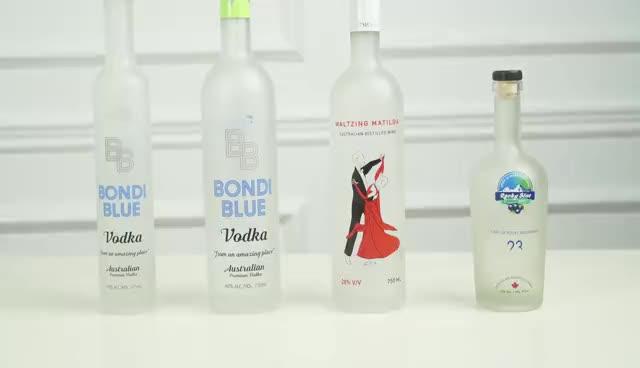 Thấp Moq Phổ Biến Flint 750 Ml 75 CL Rượu Sâm Banh Nước Soda Uống Lấp Lánh Nước Trái Cây Màu Sắc Rõ Ràng Chai Thủy Tinh