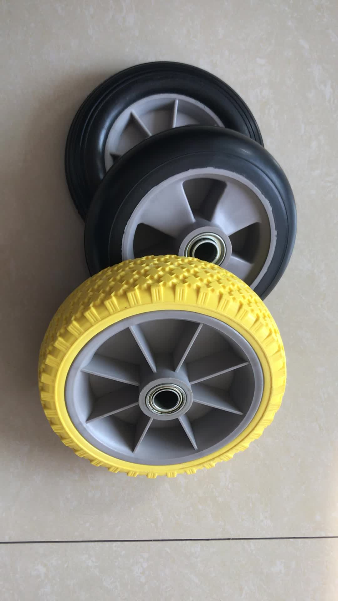 High Quality Rubber Wheel For Trash Bin