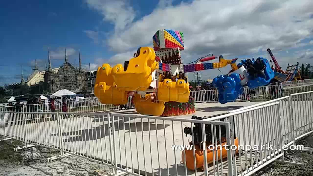 Hot sale carnival parque de diversões de diversões thrill rides tempestade de energia para venda