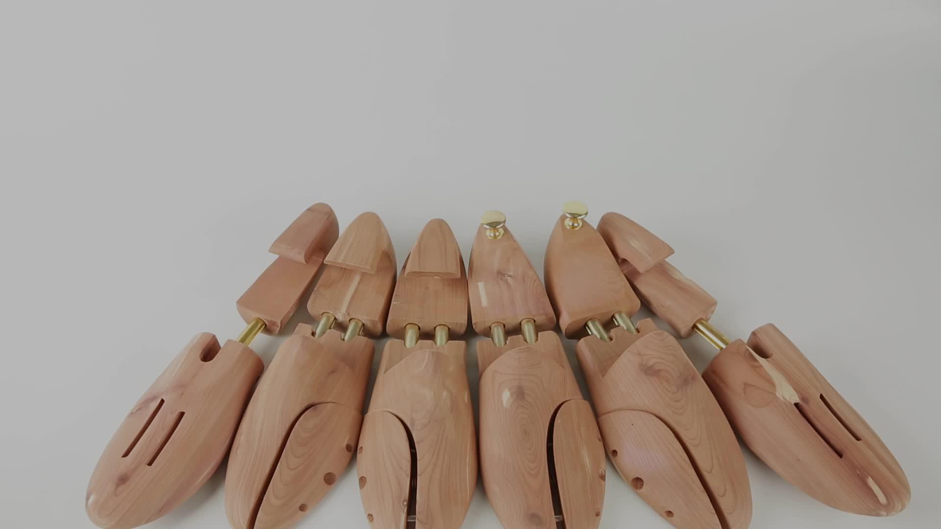 Hot Sale Fashion Custom Adjustable Metal Tubes Cedar Wooden Shoe Stretcher