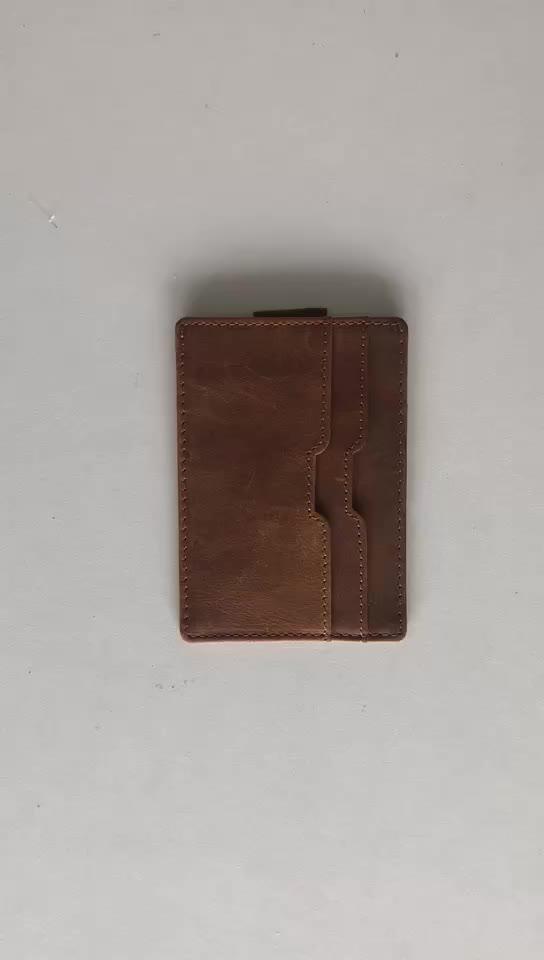 เงินบุรุษSilmหนังPUบุรุษผู้ถือบัตรเครดิต