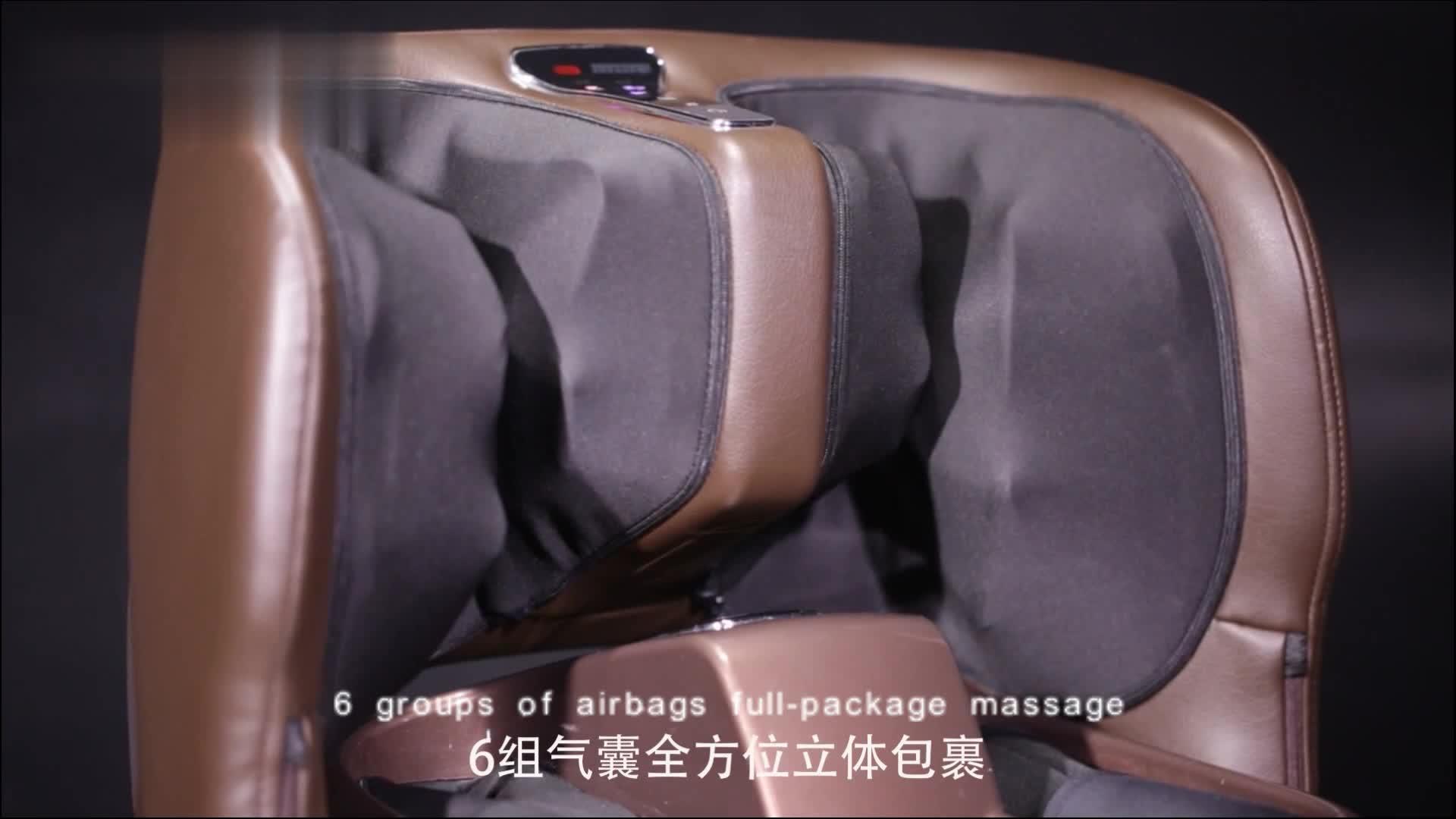 Shiatsu Luft Kompression Kalb Muskel Bein Kosmetikerin Fuß und Bein Massager