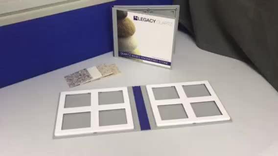 Stone Sample Folder for Quartz Stone Sample Display
