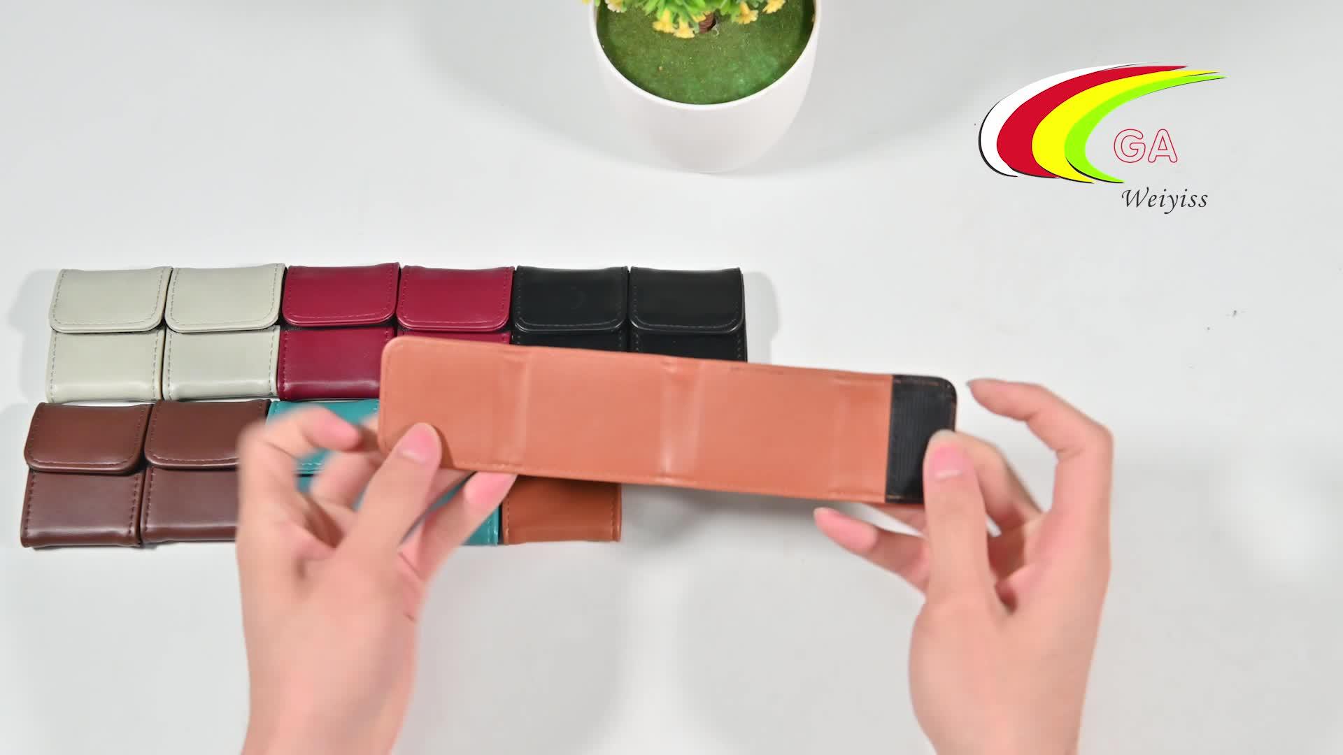 Multi Color 2Pcs Pu Leather Car Seat Belt Adjuster Positioner For Kids And Adult