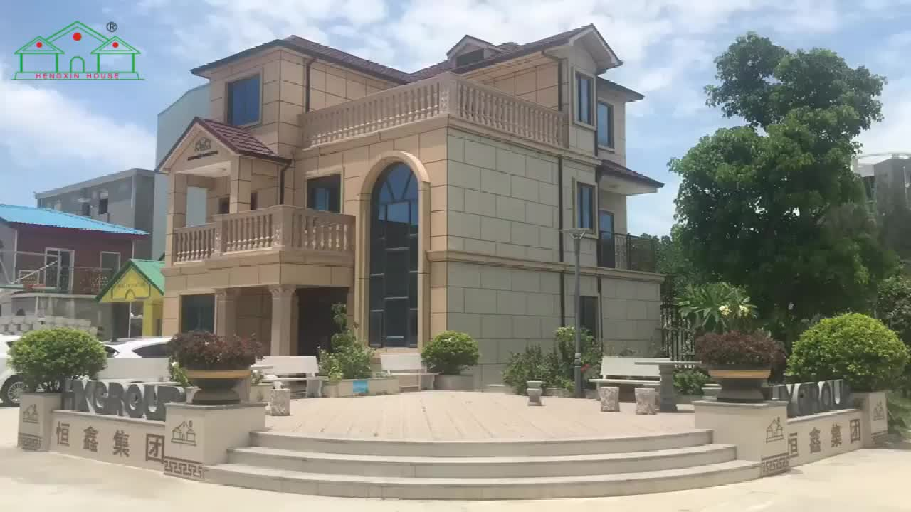 चीन धातु फ्रेम सस्ती स्मार्ट पूर्वनिर्मित घर प्रवेश केबिन prefab घर