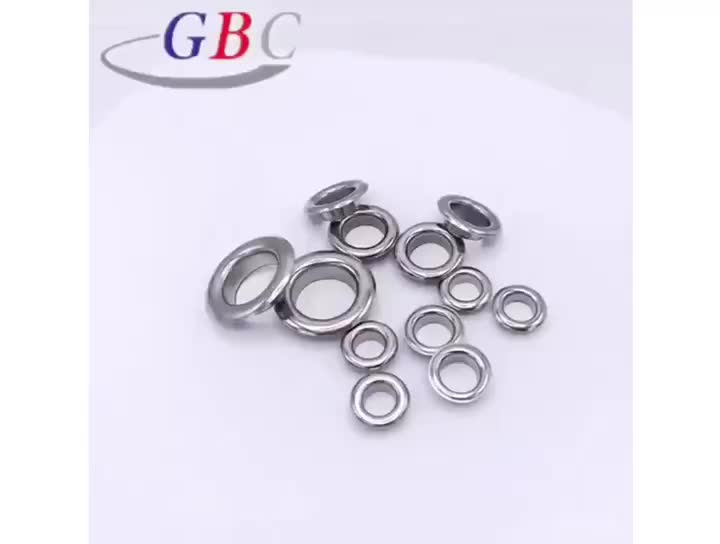 Factory price garment accessories metal eyelet for clothes