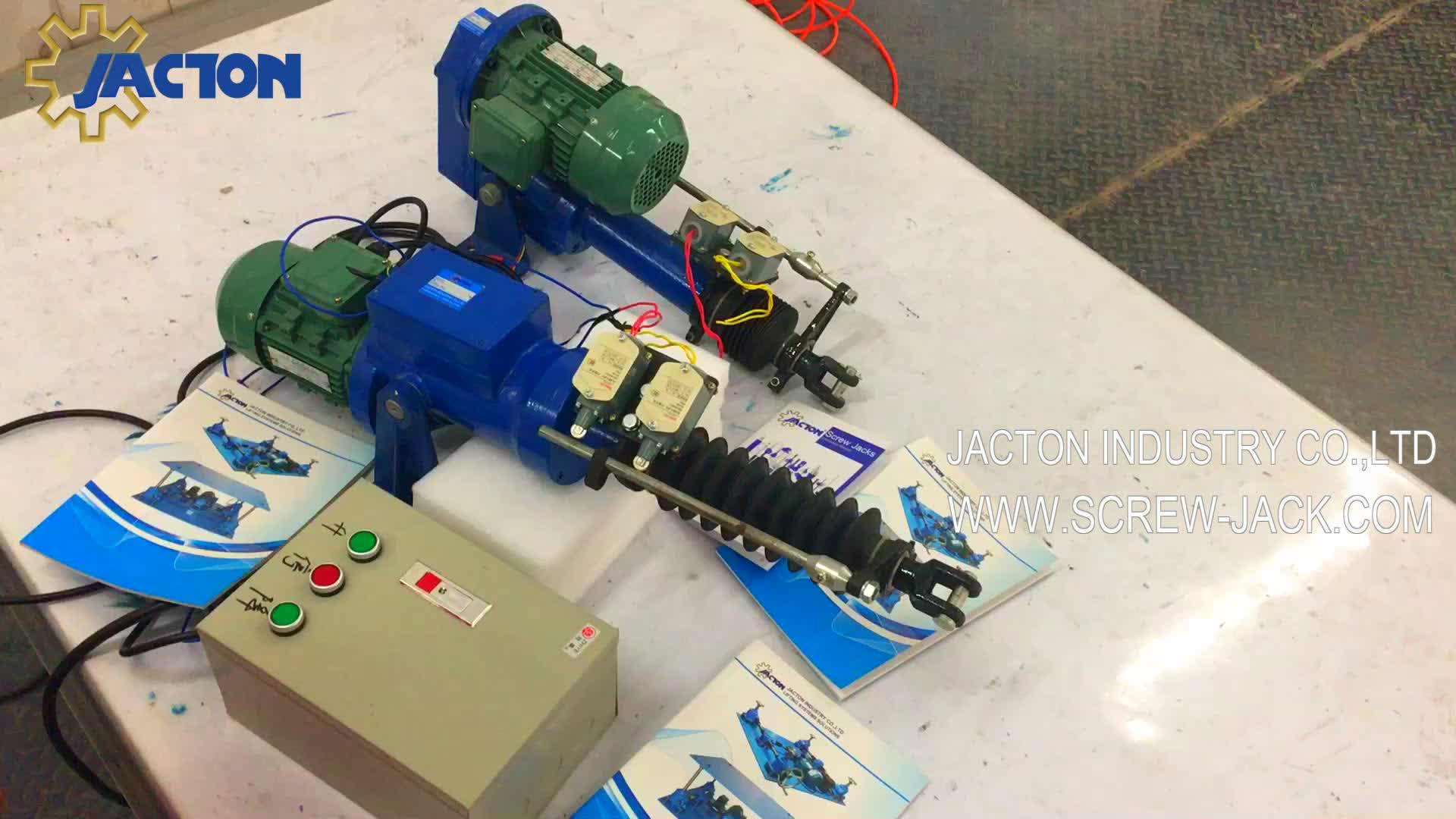 1000Kgf ความจุ Electric Linear Actuator มอเตอร์ไดรฟ์น้ำหนัก Motor - Driven Actuator