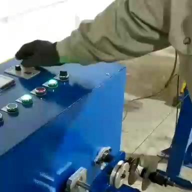 QIPANG small spool metal wire rewinding machine /wire coiling winder machine