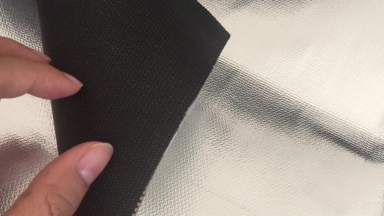 Yüksek Sıcaklık Koruması Isıya Dayanıklı Alüminyum Teflon kaplı fiberglas kumaş