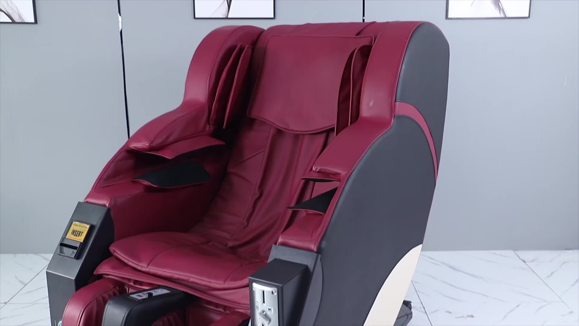 Electric Zero Gravity Full Body Massage Chair With Foot Massage