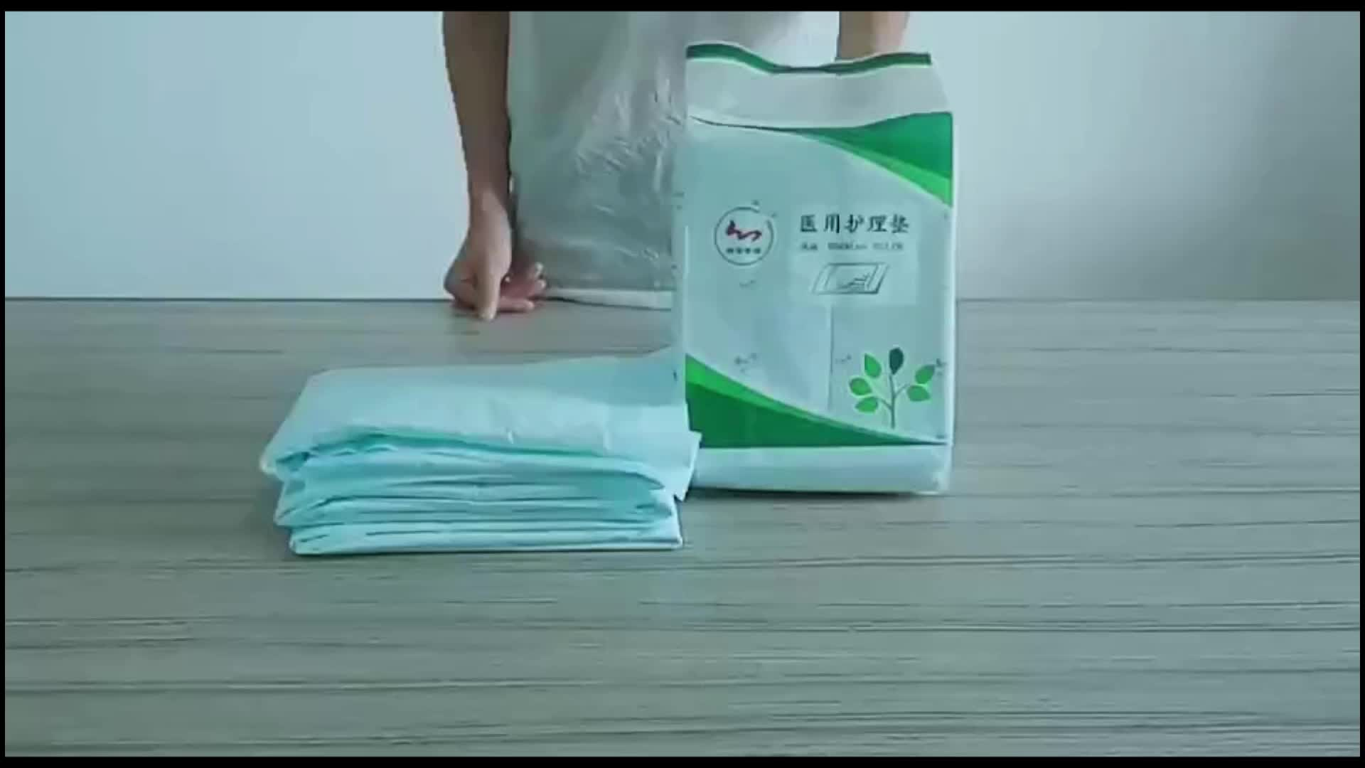 Medical Absorbent Under Pads Disposable Patient Cleaning