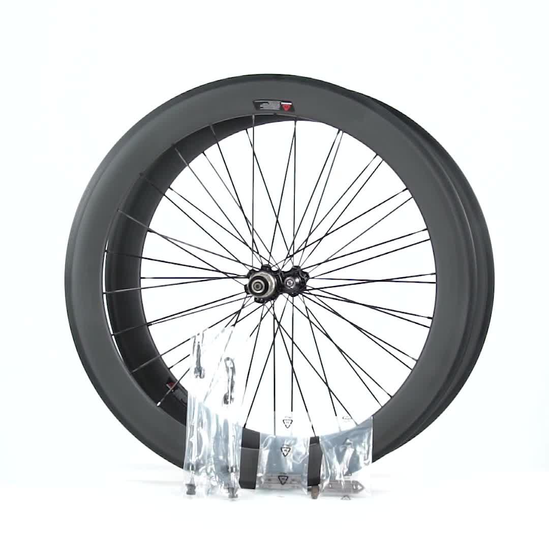 CSC Carbon Xe Đạp Bánh Xe Toray T800 25 Mét Chiều Rộng U Shape 50 Mét Clincher Carbon Fiber Xe Đạp Wheelset