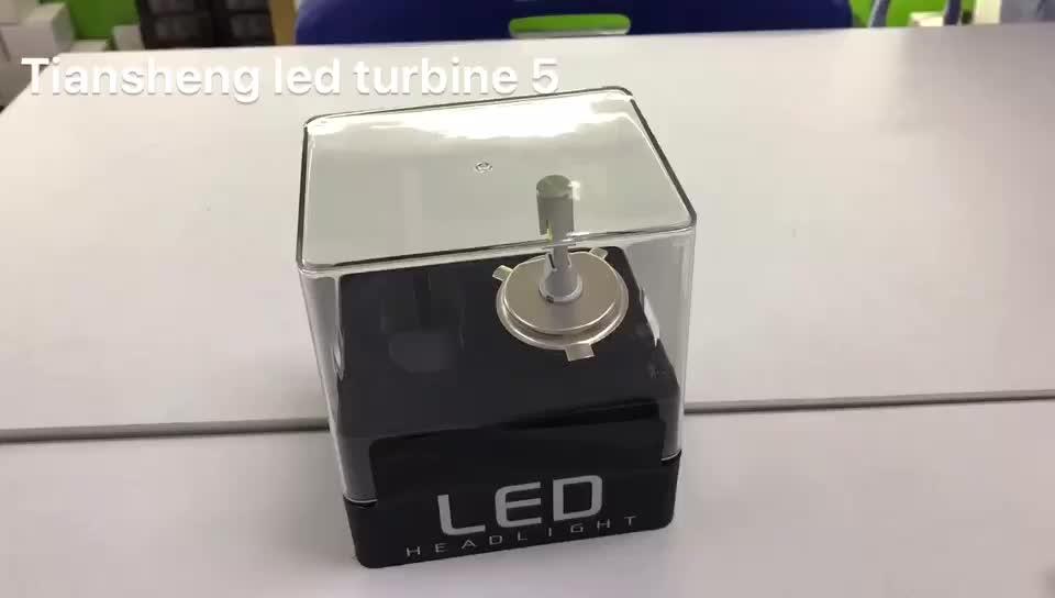 t5 auto led restaurador de faros v16 turbine led hb3 car headlamp h4 9003 hb2 led headlight bulb