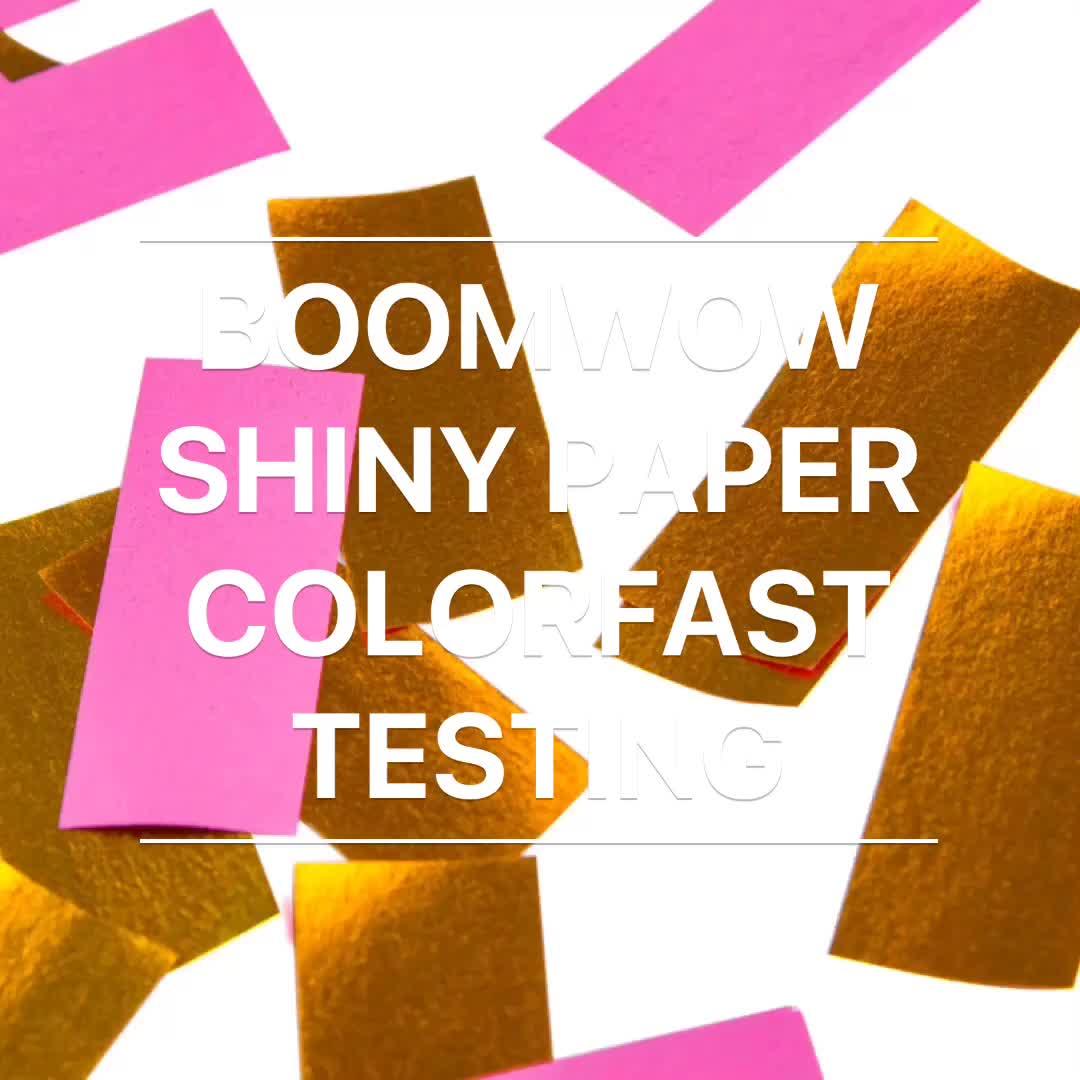 Boomwow Novo Produto Papel de Tecido De Impressão Dupla Face Sacos Perfeito para Canhão Confetti Confetti Confetti Popper
