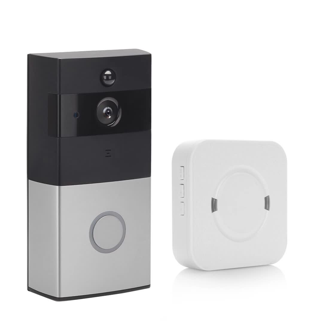 2019 Home Wireless Door Bell 720P Camera Smart WIFI Video Doorbell For Apartments
