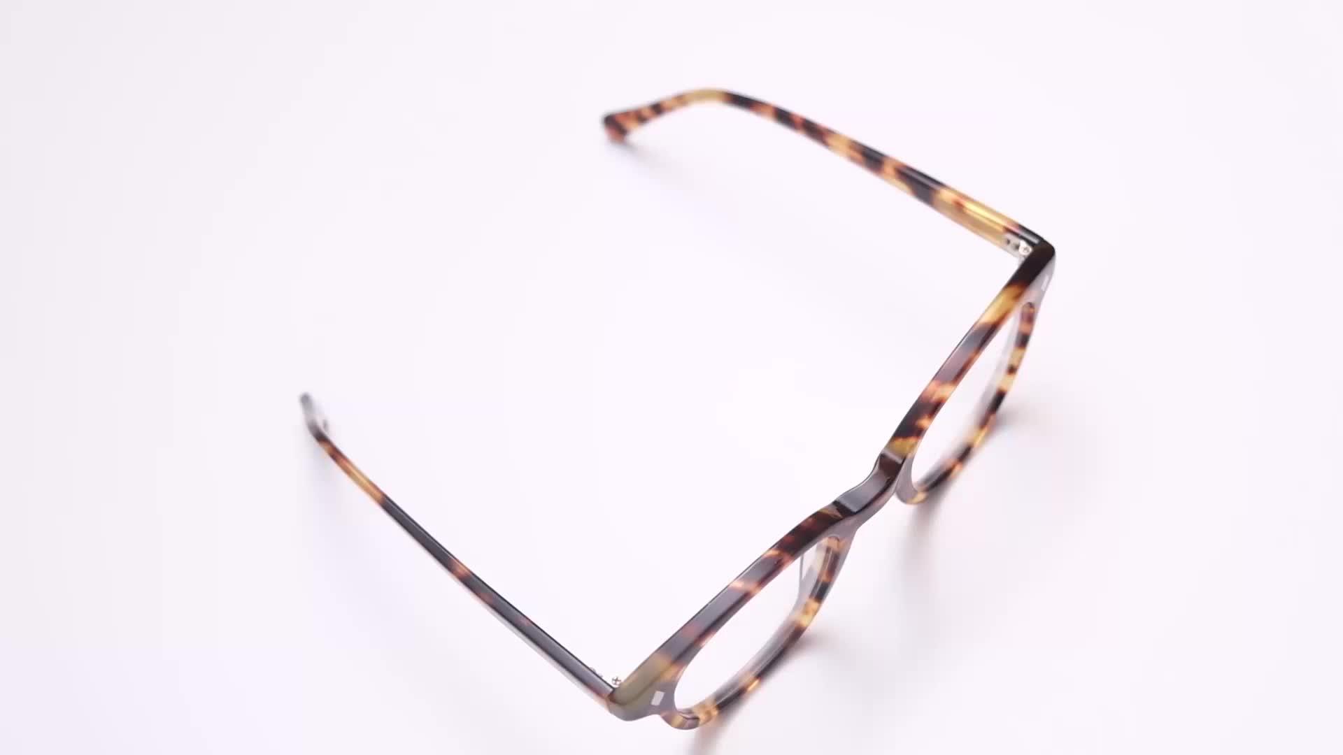 최신 Model 아세테이트 안경 프레임 Retro 광 Frame Glasses
