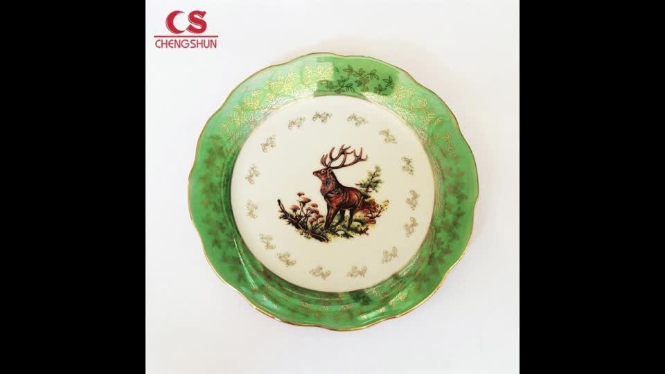 Hand made square plate For Home Decoration