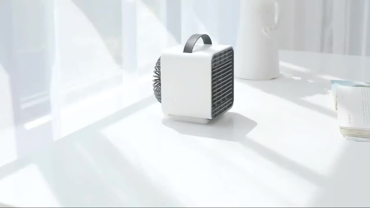 Hot Sell USB Mini Air Conditioner Negative Ion Three-windshield Night Lamp Portable Air Conditioner ZY-192