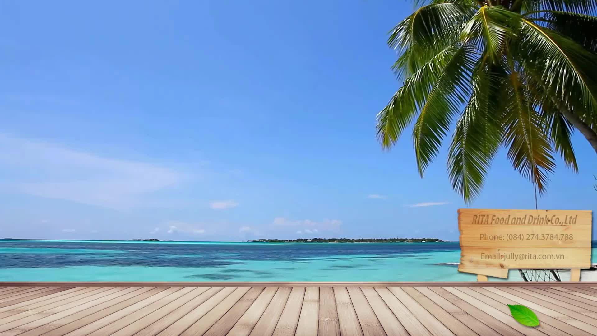 250 мл Pet Can 100% чистая сверкающая кокосовая вода