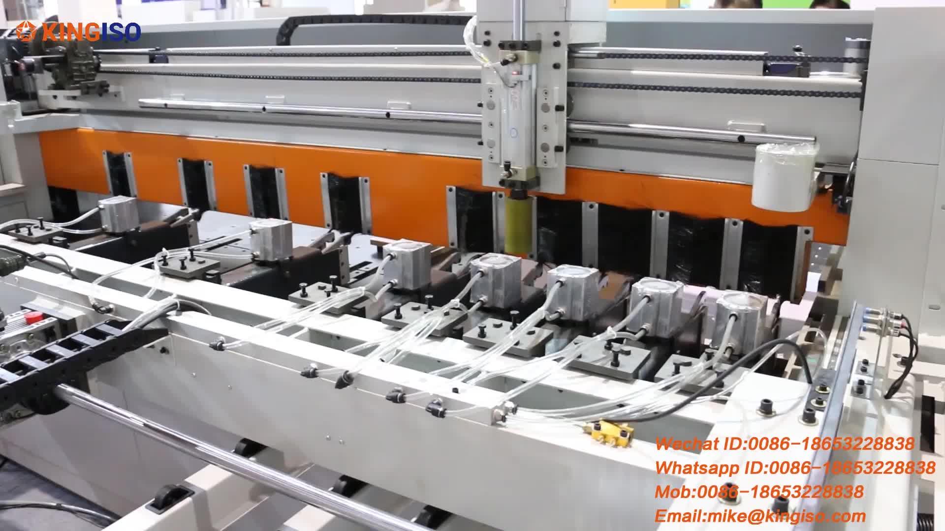 Yüksek verimli bilgisayar ışın testere makinası otomatik besleme CNC Panel testere fiyatı