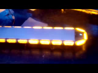Waterproof ,shakeproof and dustproof LED warning lightbar for Special vehicle
