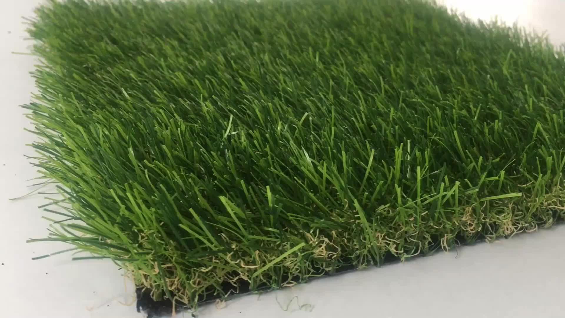 Uso interno ed esterno prato sintetico giardino, i bambini giardino prato, all'aperto tappeto erboso artificiale