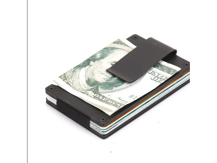 RFID Blocking Credit Card Protector for Men and Women - Stylish Travel Wallet - Business, ID, Insurance, Debit, ATM Card Holder