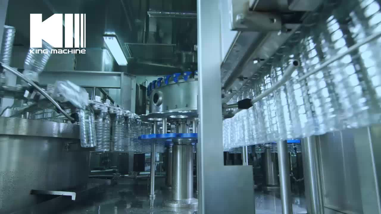 Small Pet Bottle Water Filling Production Line