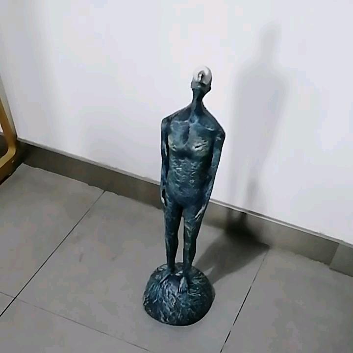 Resina Acrilica Astratta Moderna scultura umani ragazzo Statua Pensatore Figurine