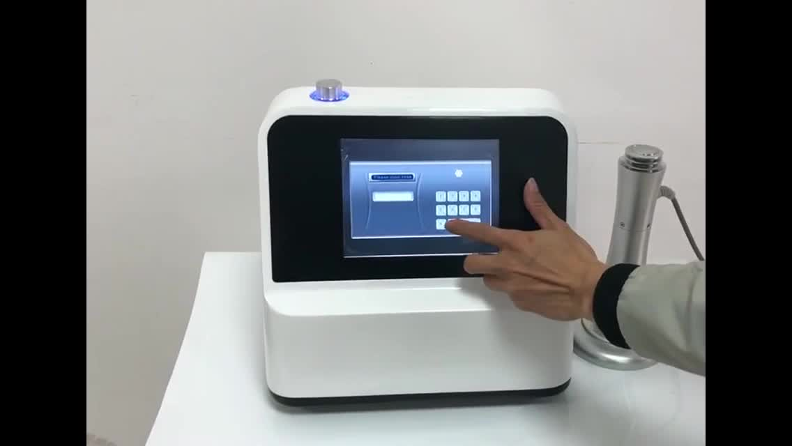 eswt shockwave therapy sports pain relief machine/extracorporeal shock wave for joint pain relief