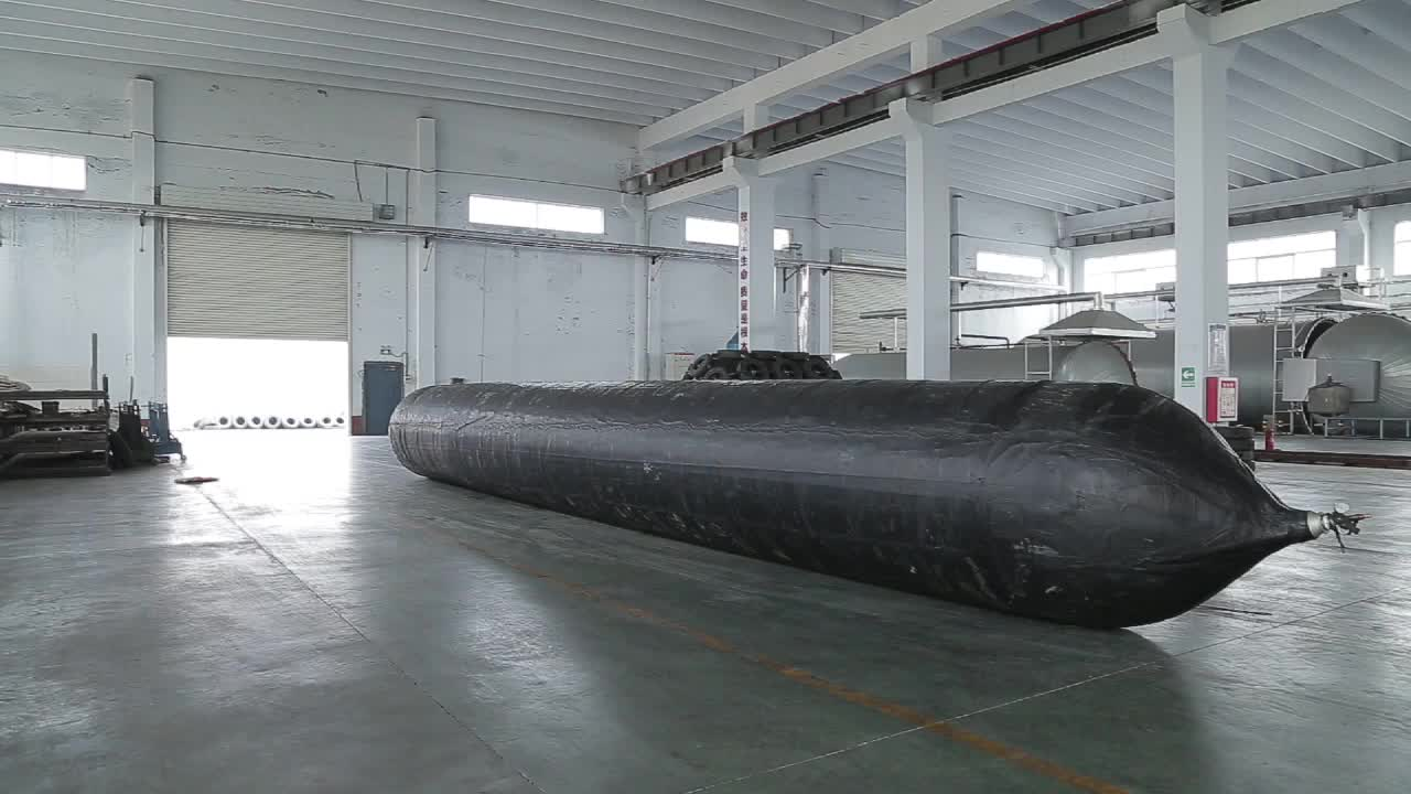 Boat Marine Inflatable Rubber Airbag For Ship Launching