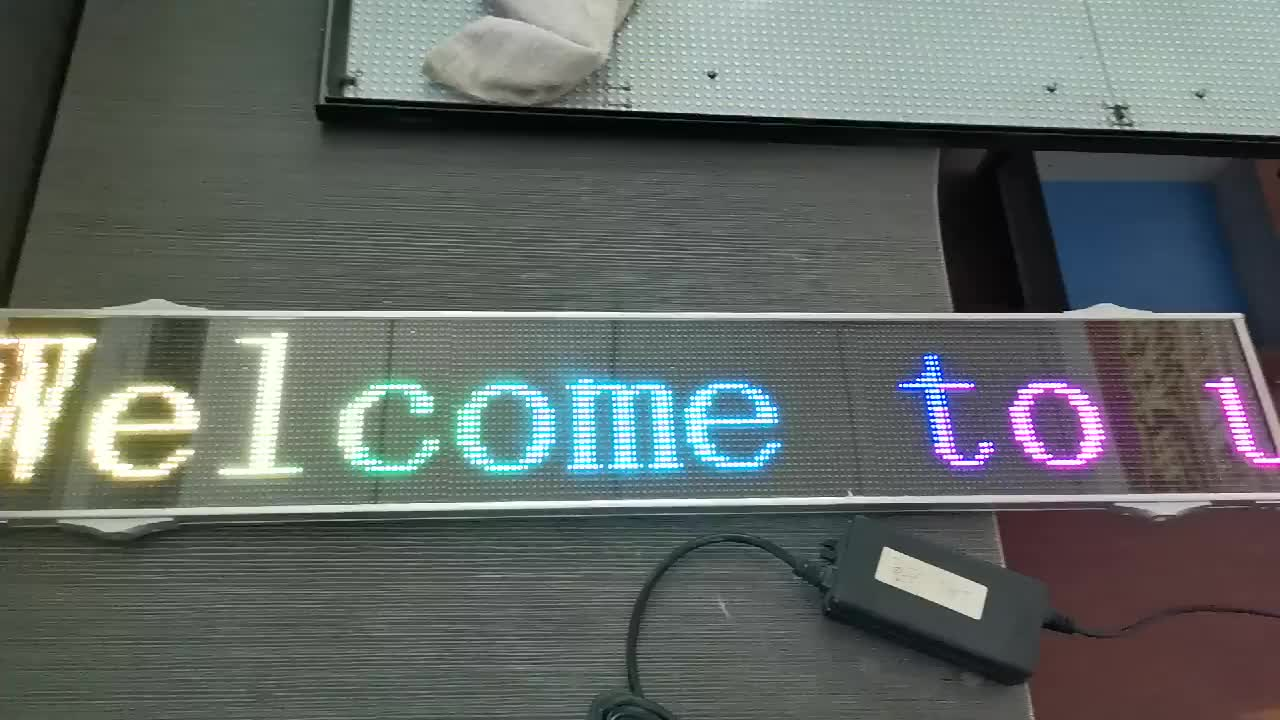 Animated Led Moving Message Signs Led Matrix Advertising Display For Car