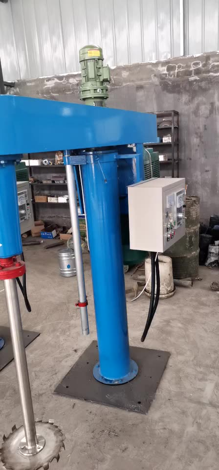 High speed strong viscosity water based 2000L paint mixer/ anti corrosive epoxy paint cheap price stirrer agitator for sale