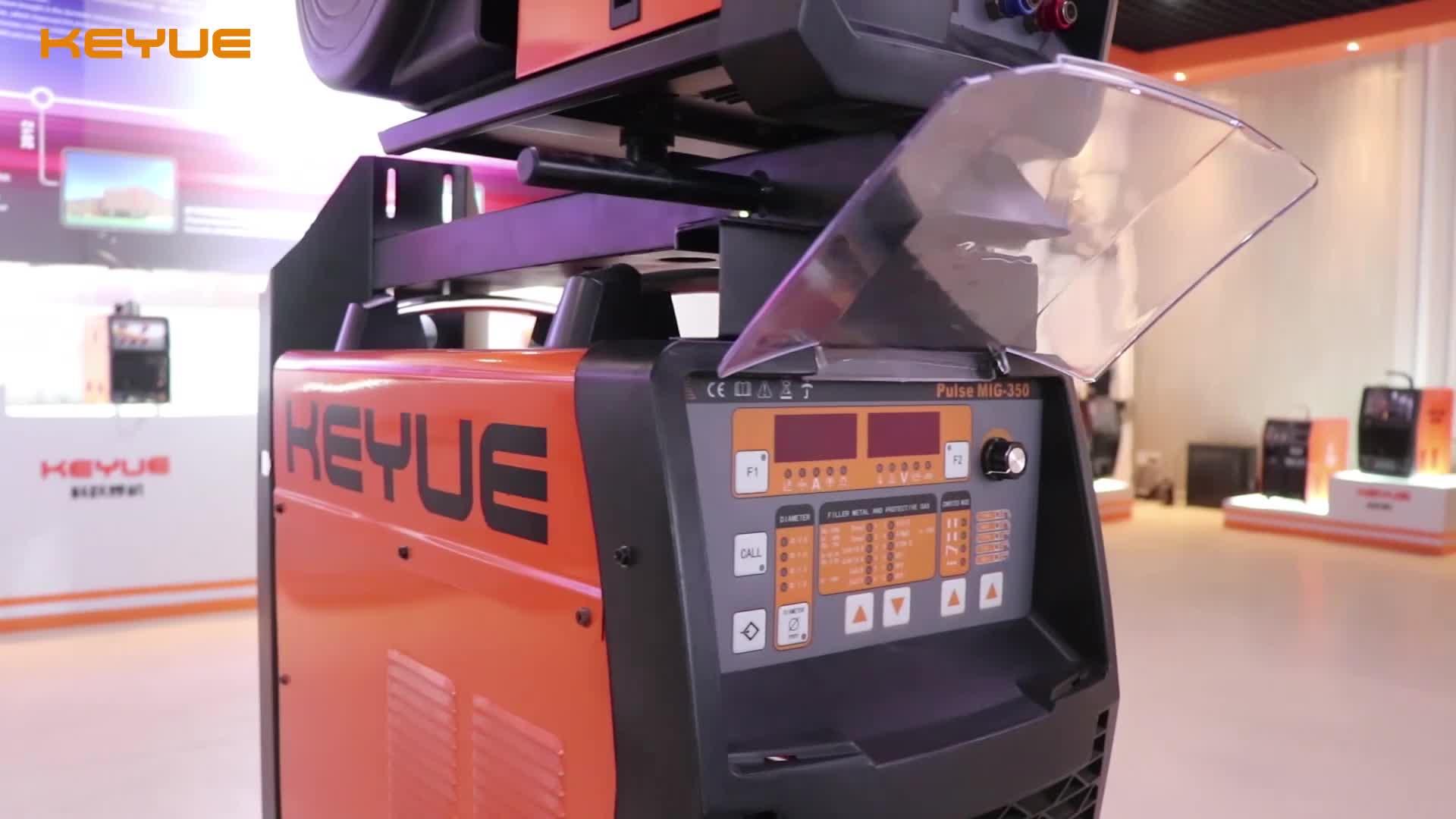 IGBT DC Inverter trifase ad alta frequenza heavy duty digital Synergic gas CO2 TIG/SMAW/mig/mag twin pulse alluminio Saldatore