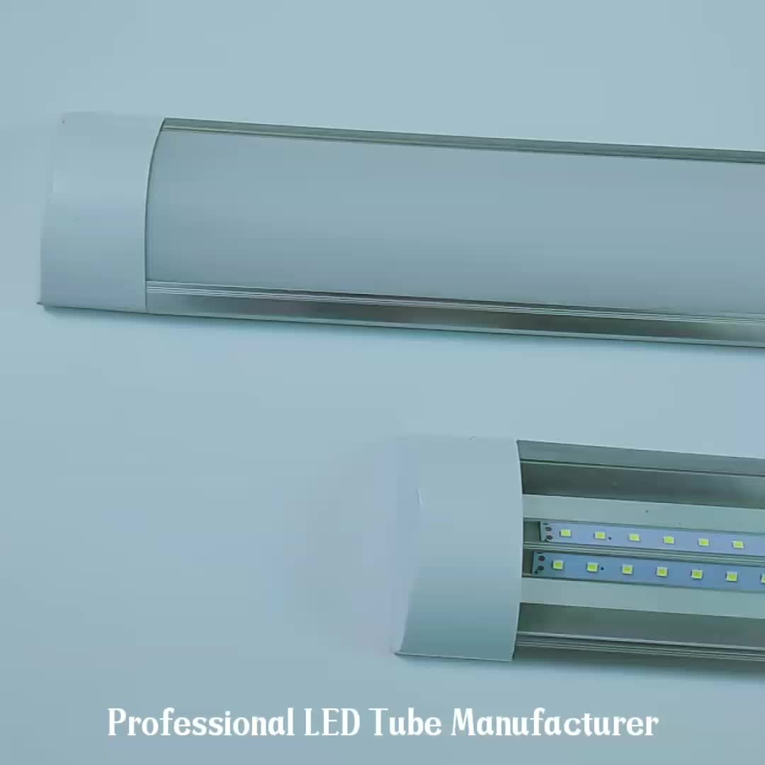 Recessed garage lighting led trunking linear light led batten super bright linkable led linear light