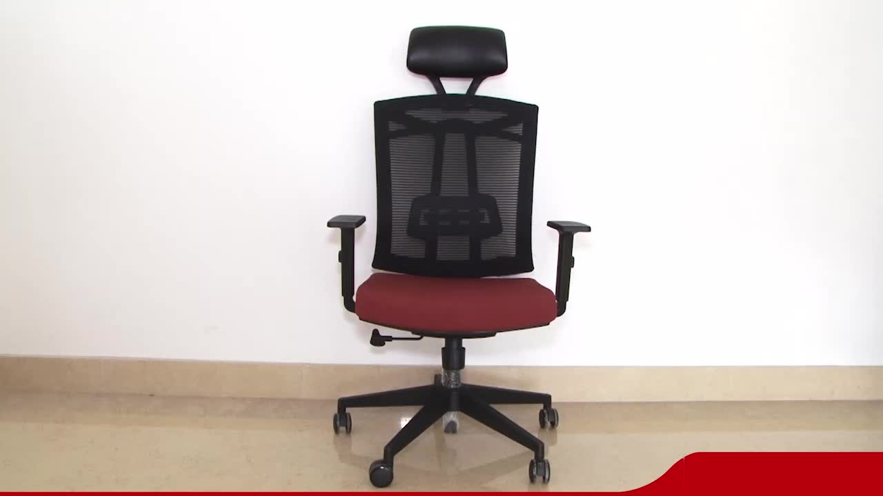 Ergonomic Mesh High-Back Ergo Office Armchair Computer Swivel Office Chair With Suit Hangers(HY-6206A)