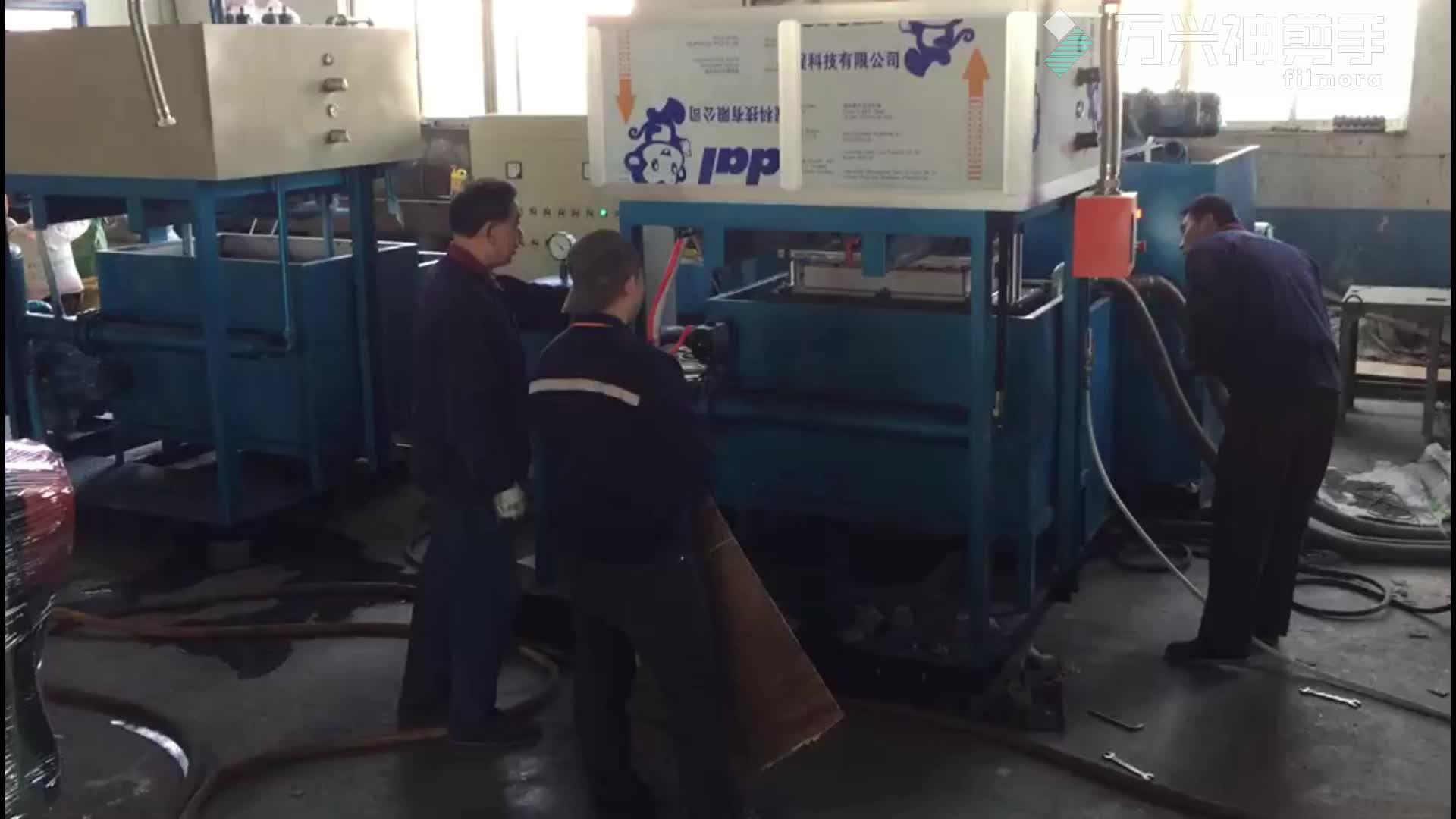 Totalmente automático de papel bandeja de ovos formando kobe que faz a maquinaria