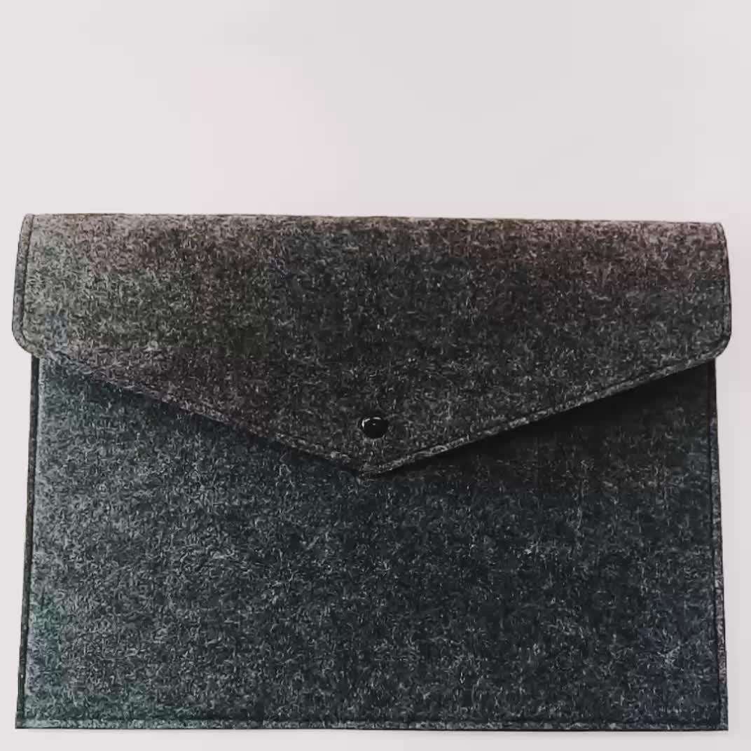 Customized Felt A4 File Folder/ Office Supply Felt Document Bag For A4 Paper Or Laptop Sleeve
