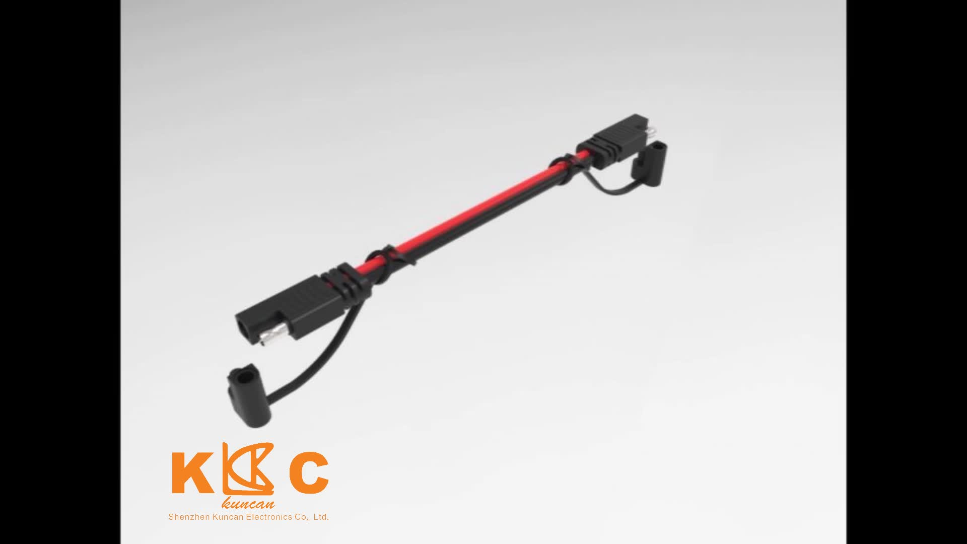 16 AWG 18AWG red and black car charging Solar panel battery cable 12v 24v male to male Extension Cable SAE extension cable