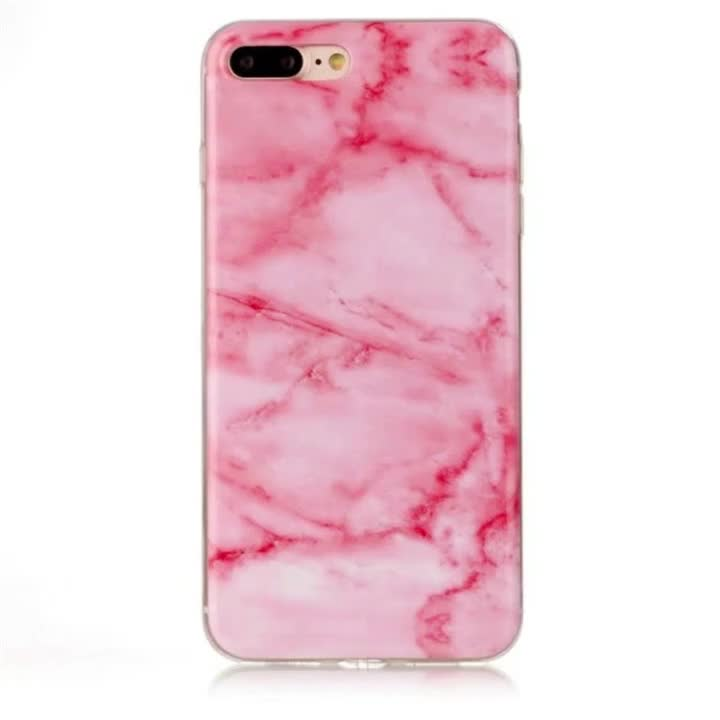 Customized printed for iphone 8/8 plus marble phone case