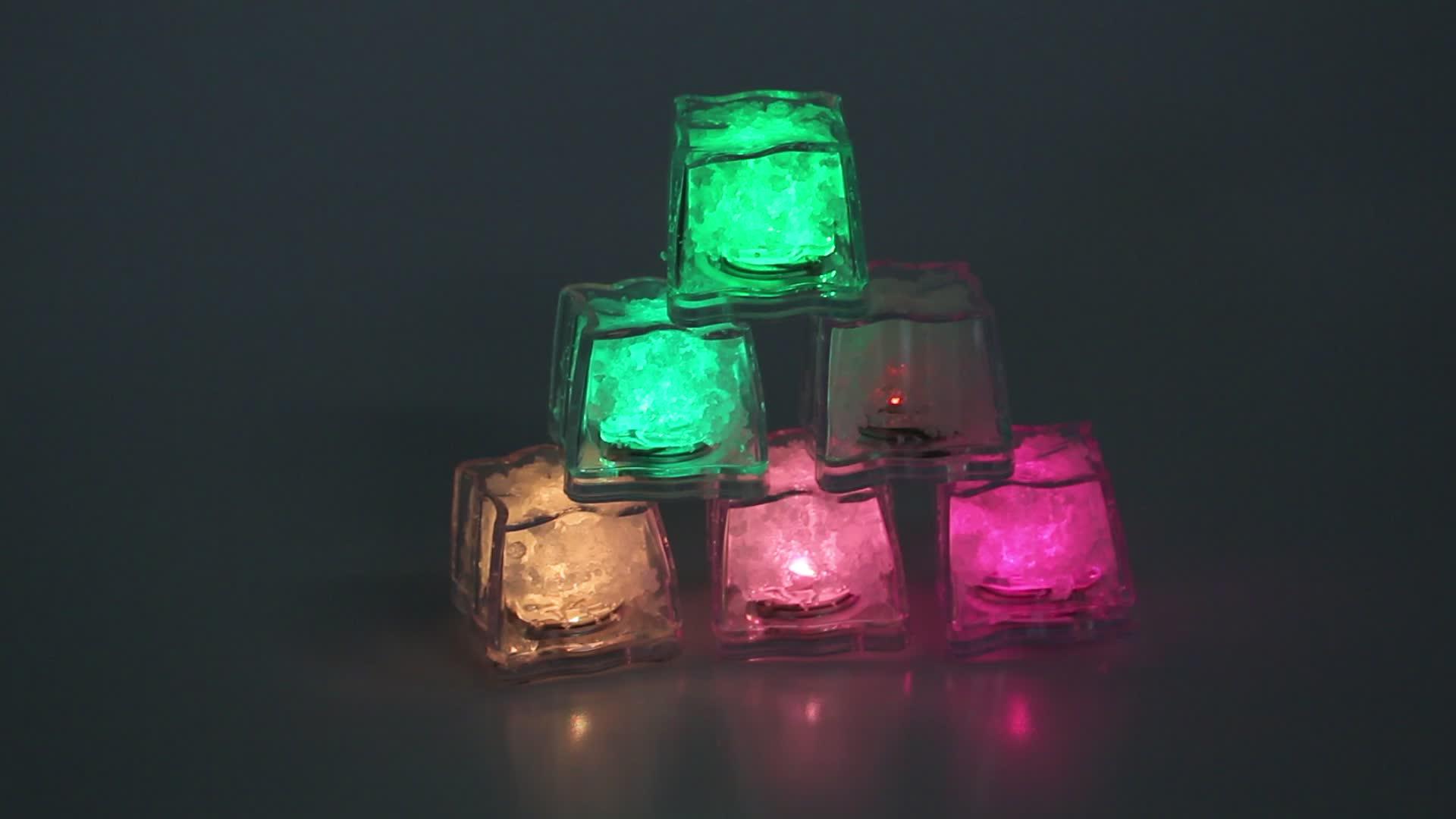 switch flashing LED ice light lamp party decoration Flashing ice light