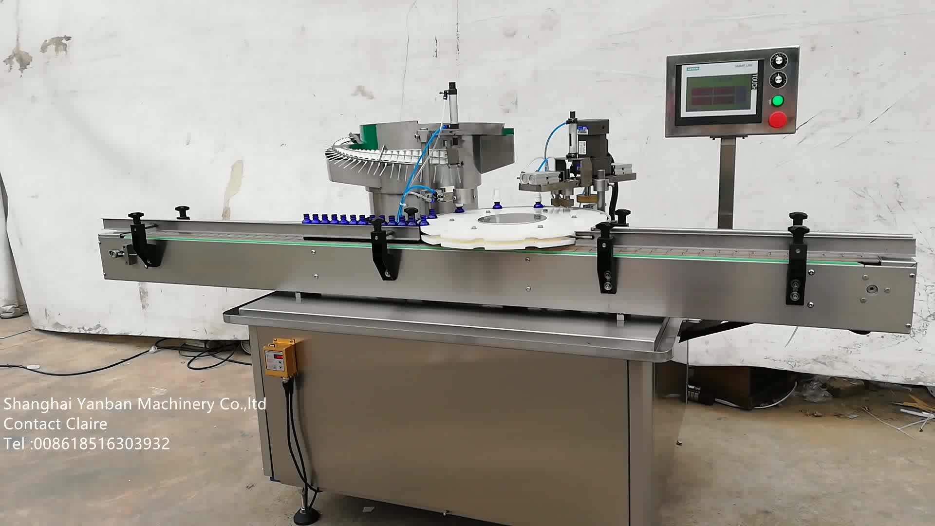 Bottle capping Machine Perfume Spray Bottle Automatic Screw Capping Machine